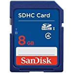 10 Piece SanDisk SDSDB-008G 8GB SDHC Class 4 SD sdhc flash Memory Card for DSLR Camera Nikon Canon 6 SDHC cards are fully compatible with all SDHC-compliant devices Writeable label for easy identification and organization Security: Built-in write-protect switch prevents accidental data loss