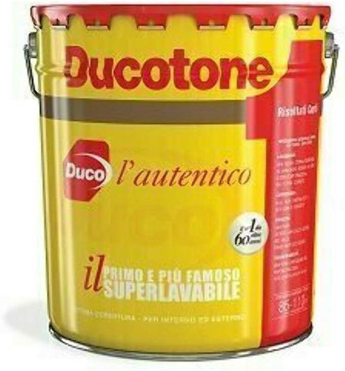 Ducotone Classico Duco Pittura Murale Superlavabile Interno Esterno Litri 5 Amazon It Fai Da Te