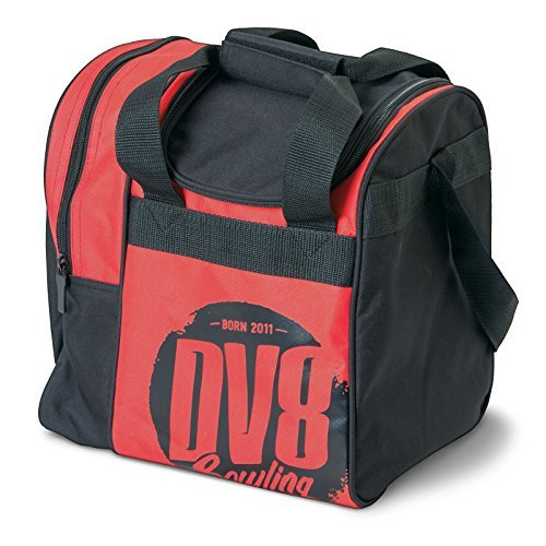 DV8 Tactic Single Tote Bowling Bag, Red