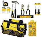 Stanley STMT74101 Mixed Tool For Home Repair Set, 38 Piece (Tool Kit w/bag)