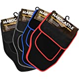 Hardcastle 4 Piece Front & Rear Coloured Trim Car Mat Set - Choice of Colours