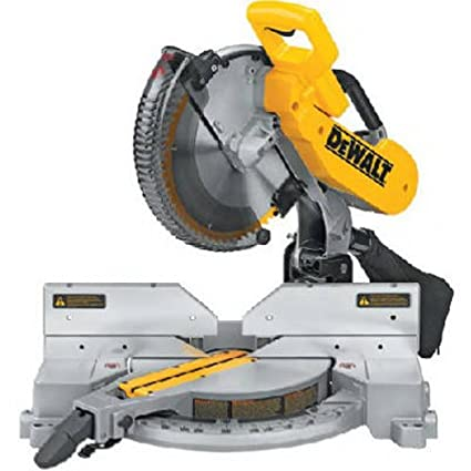 dewalt dw716 12 in double bevel compound miter saw power miter