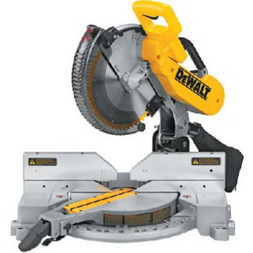 - DEWALT 12-Inch Compound Miter Saw Double-Bevel, 15-Amp (DW716)