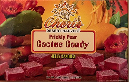 Prickly Pear Jelly Candies - Prickly Pear Cactus - Tastes Great - Made With Real Cactus Juice