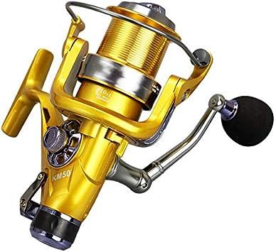 Rueda Giratoria Carrete De Metal Carp Spinning Pesca Con Mosca ...