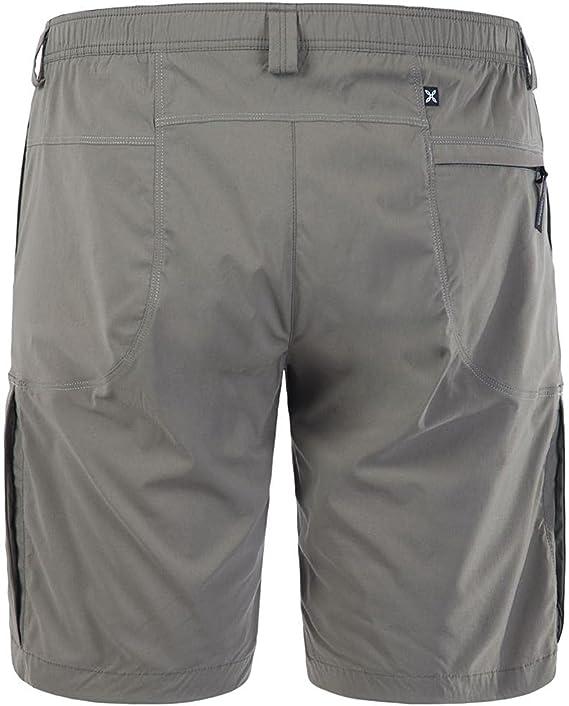 Pantalone Uomo Corto 4 Tasche Travel Bermuda Antracite MONTURA