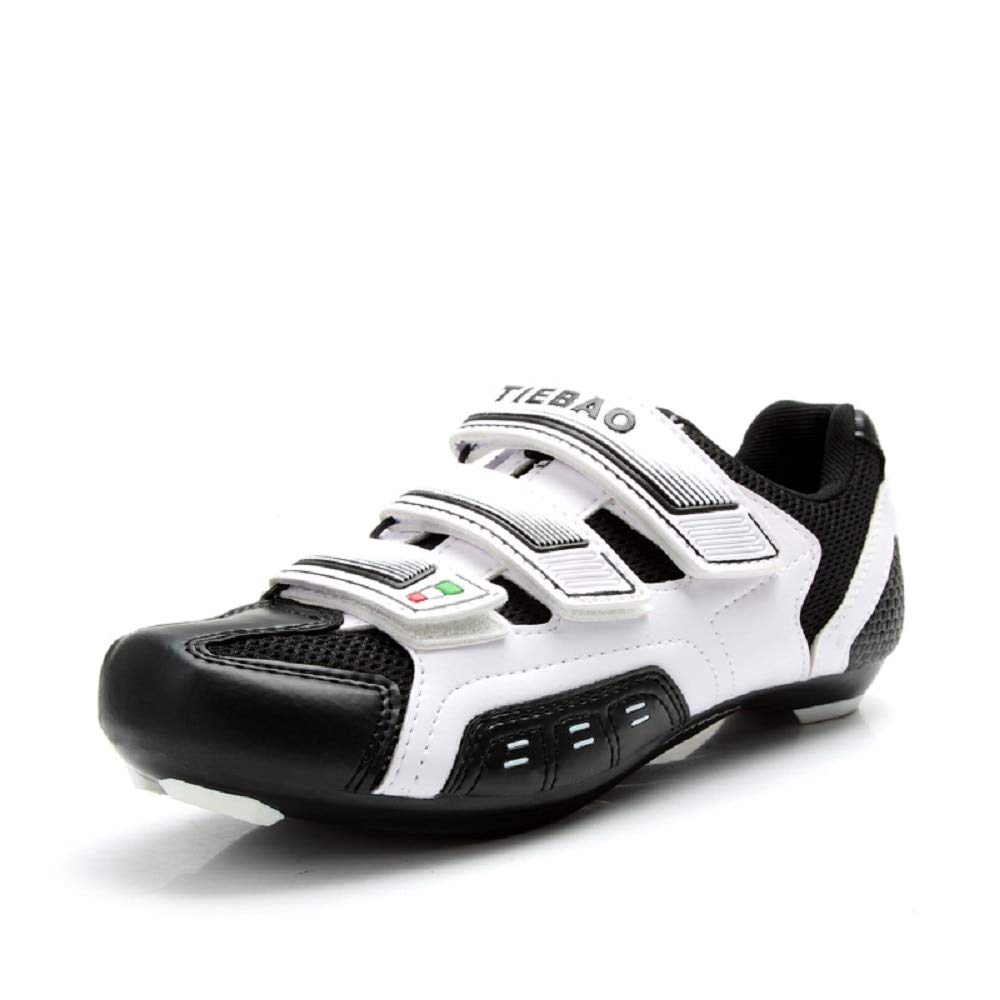 Mens Road Cycling Shoes Indoor and Outdoor Riding Bike Shoes Bicycle Shoes