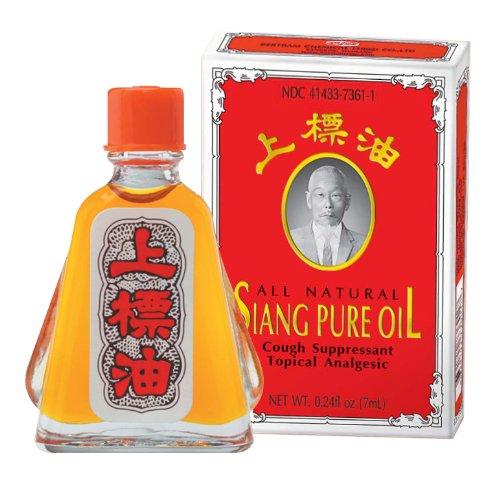 Siang Pure Oil Tous analgésique naturel Siang Pure Huile topique, 0,236 onces (Pack de 10)