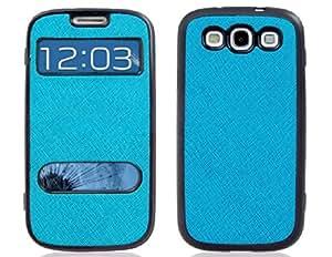 Funda protectora de goma de TPU para Samsung Galaxy S3 / I9300 (azul)