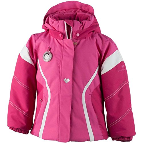 Obermeyer Kids Baby Girl's Aria Jacket (Toddler/Little Kids/Big Kids) French Rose 7 by Obermeyer Kids