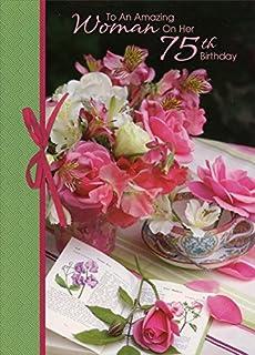 Amazon panda bear ballerina top fold pop up granddaughter amazing woman flowers on table 75th designer greetings birthday card m4hsunfo