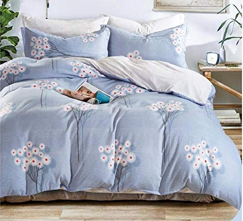 Fitted Bedsheet Queen Size (3 Pcs Set 1 Engage Queen Fitted Double Bedsheet with 2 Pillow Covers)