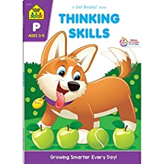 Find our complete line of educational resources at Amazon.com/SchoolZonePublishingIMAGINATION - Putting two and two together takes practice and concentration! This kids activity workbook is designed to help your 3-5 year old child develop obs...