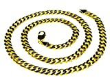 14k Solid Yellow Gold Miami Cuban Curb Link 22'' 8 mm 78 grams chain/Necklace