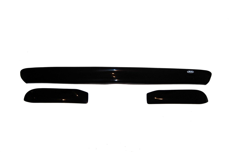 Auto Ventshade 45551 Bugflector II Deluxe Hood Shield, 3 Piece