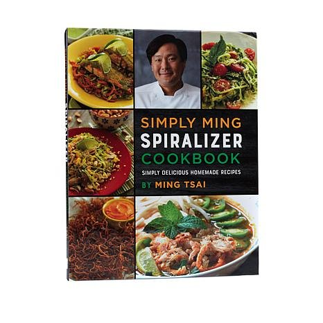 Simply Ming, Spiralizer Cookbook 2017 pdf