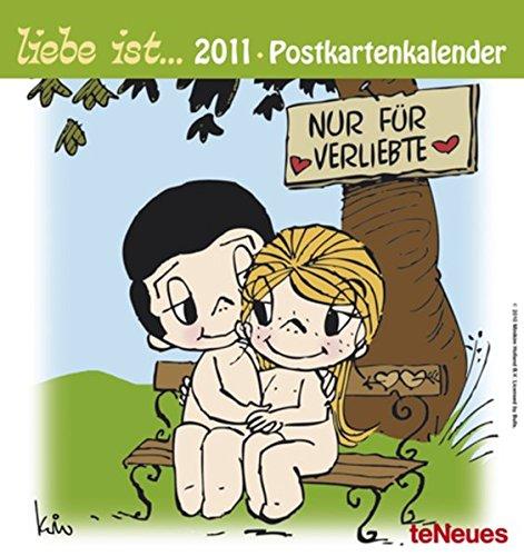 liebe ist... 2011. Postkartenkalender