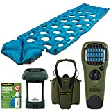 Klymit Inertia O Zone Lightweight Camping Air Pad + bundle