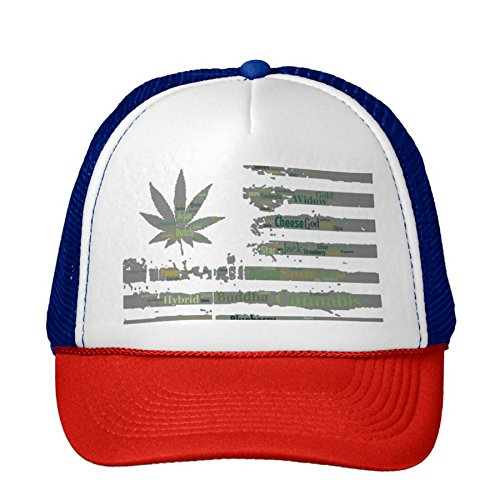 420-American-Flag-Cannabis-Stoner-Marijuana-Weed-Snapback-Red-White-Blue
