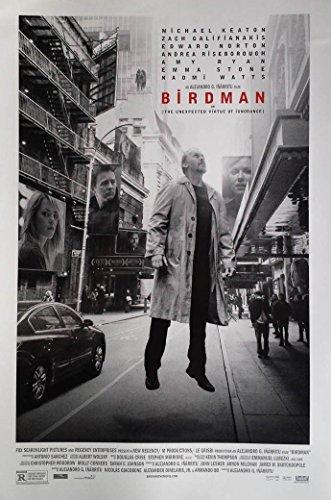 Birdman Movie Poster 2 Sided Original Final Michael Keaton Emma Stone