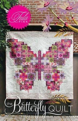 Amazon The Butterfly Quilt Pattern By Tula Pink Home Kitchen Gorgeous Butterfly Quilt Pattern