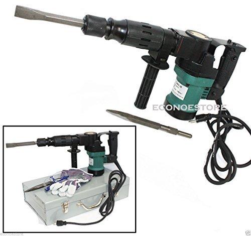 3000BPM 900W 1-1/2' Electric Demolition Hammer Concrete Breaker W/Chisels Bits