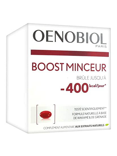 Oenobiol Boost Minceur - Cápsulas adelgazantes