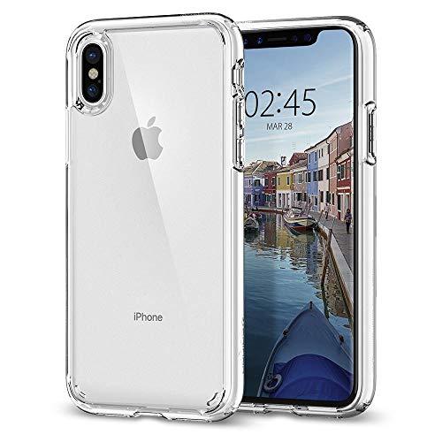 Spigen Ultra Hybrid Designed for Apple iPhone Xs Case (2018) / Designed for Apple iPhone X Case (2017) - Crystal Clear