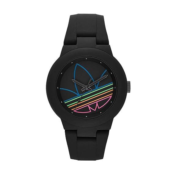 adidas ADH3014 - Reloj de Pulsera Mujer, Silicona, Color Negro: Amazon.es: Relojes