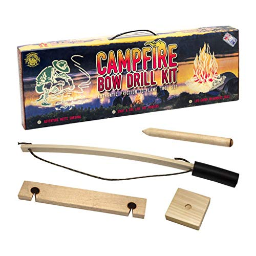 Channel Craft Campfire Bow Drill Kit (Best Wood For Friction Fire Starting)