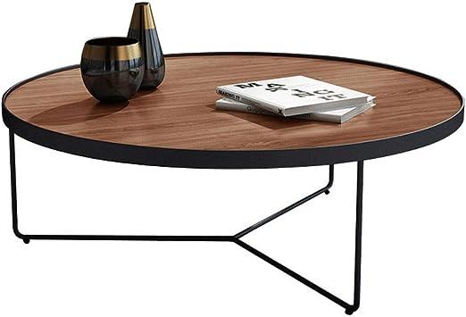 Xu-table Mesa de salón de Madera Maciza, jardín TV Decoración Mesa ...