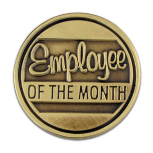 hot PinMart's Employee of the Month Corporate Recognition Lapel Pin big discount
