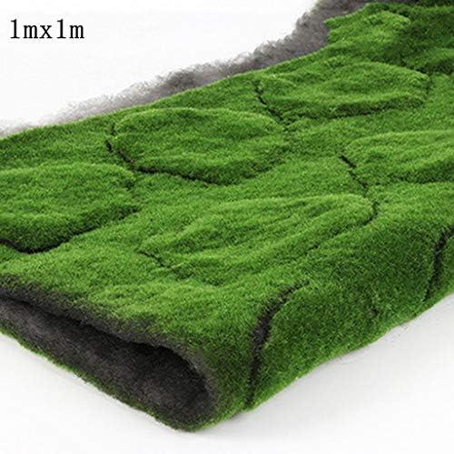人工苔マット、複数選択サイズ1m×1m 5パック (Color : Green-1, Size : 1pack)