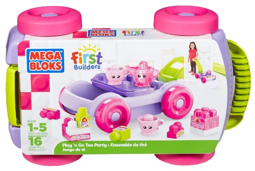 Mega Bloks First Builders Tea Party (Mega Blocks Wagon)