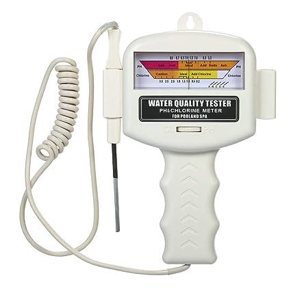 Matefield Detector de Gas Cloro Cloro Medidor Ph Pluma Medidor de Calidad del Agua del Tanque