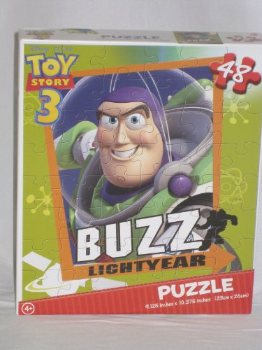 Lightyear Puzzle Buzz (Disney Toy Story 3 Buzz Light Year 48 Pc Puzzle)