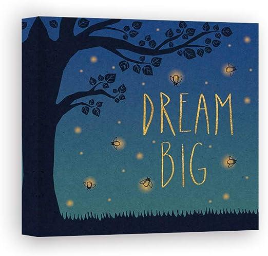 Impresión sobre Lienzo Wall Art Marshall Laura Twilight Fireflies ...