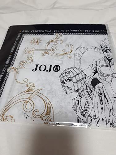 ハンカチ白 ハンカチ ホワイト 限定 ジョジョの奇妙な冒険 5部 黄金の風 JOJO ルミネ LUMINE NEWoMan 新宿 コラボ ジョルノ・ジョバァーナ