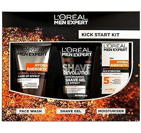 Kick Start Kit Gift Set) - LOreal Men Expert Kick Start Kit Gift Set: Amazon.es: Belleza