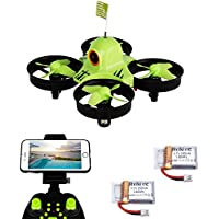 Reikirc R36HW FPV RC Drone with 480P HD Wi-Fi Camera Live Video Feed 2.4GHz 6-Axis Gyro Quadcopter for Kids & Beginners - Altitude Hold, One Key Start,,Bonus Battery