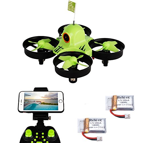 Reikirc R36HW FPV RC Drone with 480P HD Wi-Fi Camera Live Video Feed 2.4GHz 6-Axis Gyro Quadcopter for Kids & Beginners
