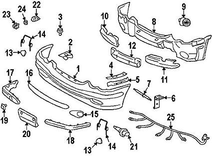 Amazon Com Mercedes Benz 0045428718 Genuine Oem Park Sensor Automotive