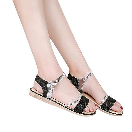 ec7afb453480c5 Amazon.com  Hopwin Women Flat Bottom Shoe