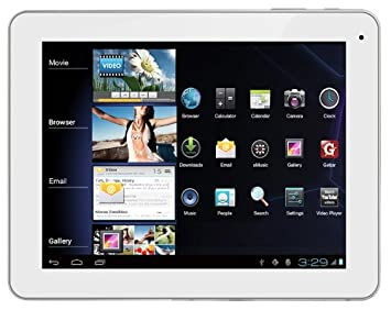 "Polaroid MIDC901 Tablette Tactile 9 "" Android Blanc"