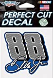 Dale Earnhardt Jr. #88 NASCAR Full Color 4x4 Die Cut Decal Item #78066016