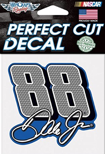 Dale Earnhardt Jr. #88 NASCAR Full Color 4x4 Die Cut Decal Item (Dale Earnhardt Decals)