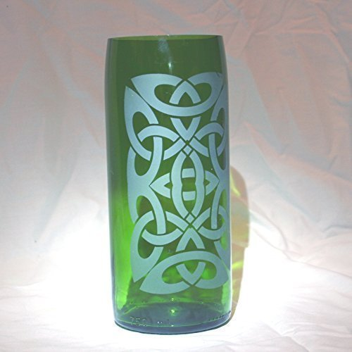 Amazon Celtic Knot Vase D7f186 Upcycled In The Usa Handmade