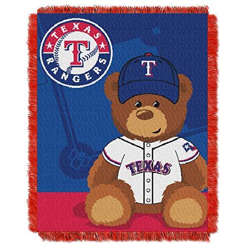 Texas Rangers Baby Blanket Bedding Throw 36 x 46
