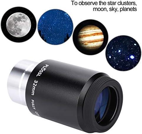 "T angxi Astronomy Telescope Eyepiece Lens, 32mm Astronomical Telescope Accessories Plossl Telescope Eyepiece Lens with 1.25"" Filter for Telescopes/Reflectors/Refractors"