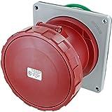 5125R6W Pin & Sleeve Device Ip67 Female Receptacle 125A 220-240/380-415Vac 4P 5W Watertight